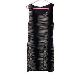 Mystree Ruched Sleeveless Bodycon Dress Sz Large